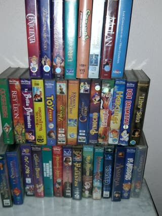 vhs películas de Walt Disney