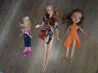Muñecas barbies y Brad