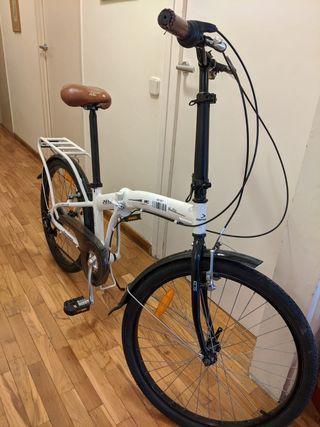 Bicicleta plegable urban life ps50 sin uso