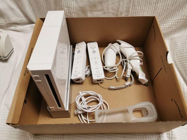 Nintendo Wii, mandos, micros,juegos, Balance board
