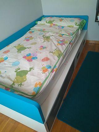 2 Juegos de sábanas con funda nórdica