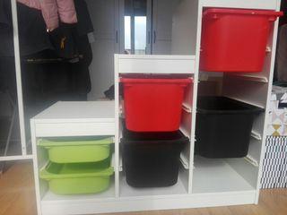 armario almacenaje ikea niños