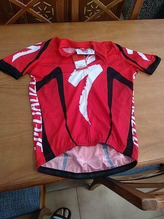 camiseta de ciclismo Especialized