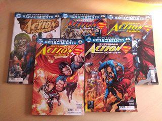 Superman action cómics