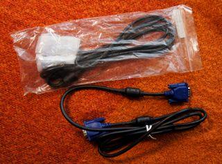 Cables vídeo: Euroconector, VGA