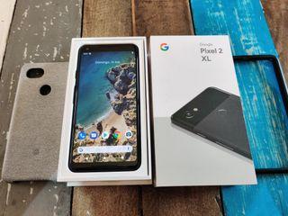 Google Pixel 2 XL caja y accesorios impecable