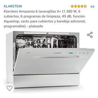 Lavavajillas pequeño Klarstein.