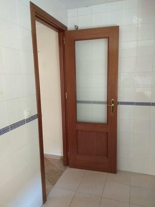 Puertas de paso madera sapelly