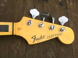 Mástil de bajo eléctrico Fender Jazz chino.