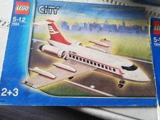 LEGO CITY AEROPUERTO Y AVIÓN