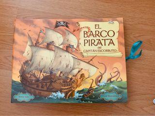 Libro pop ups EL barco Pirata
