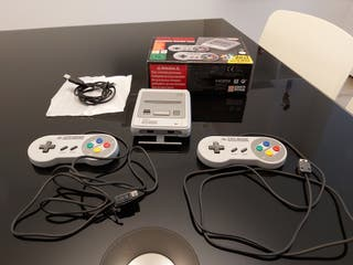 Super Nintendo Mini (Con Adaptador)