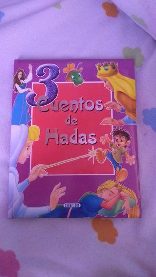 3 cuentos de hadas libro infantil