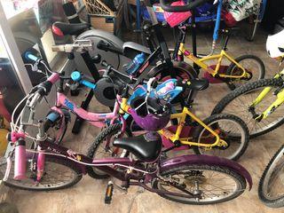 """Varias bicicletas 16 y 20"""""""