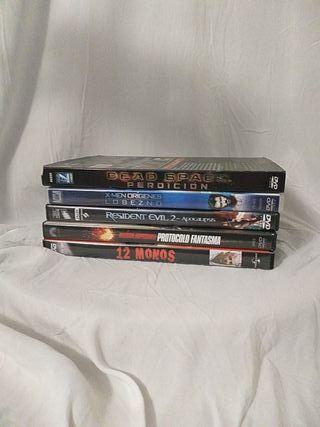 pack peliculas en dvd