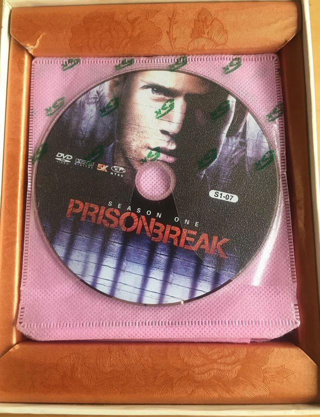 DVD Set. 28 dvd. PrisionBreak. Inglés
