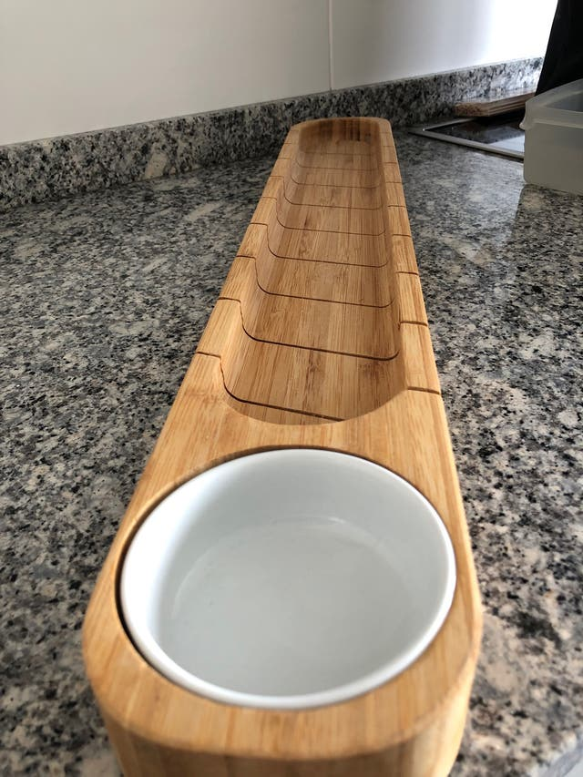 Tabla corte pan baguette