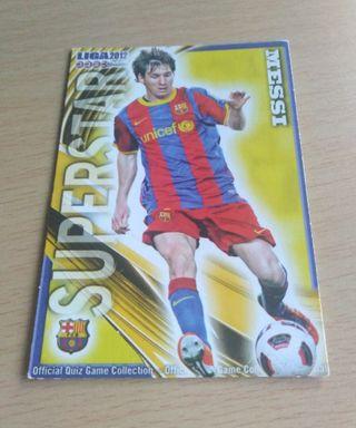 Messi cromo.