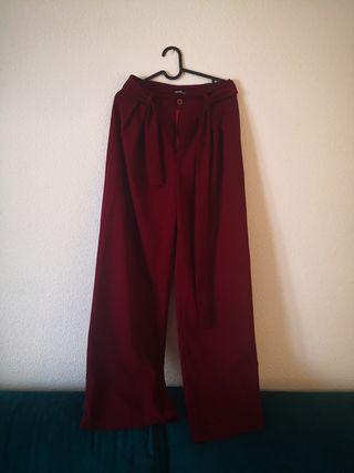Pantalón granate de vestir