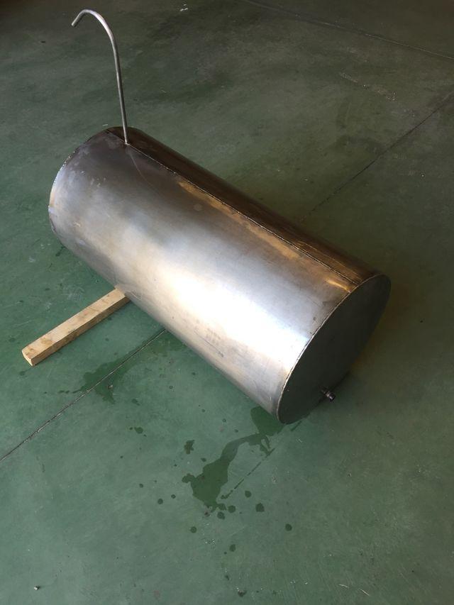 Vaso de expansión abierto de acero inoxidable