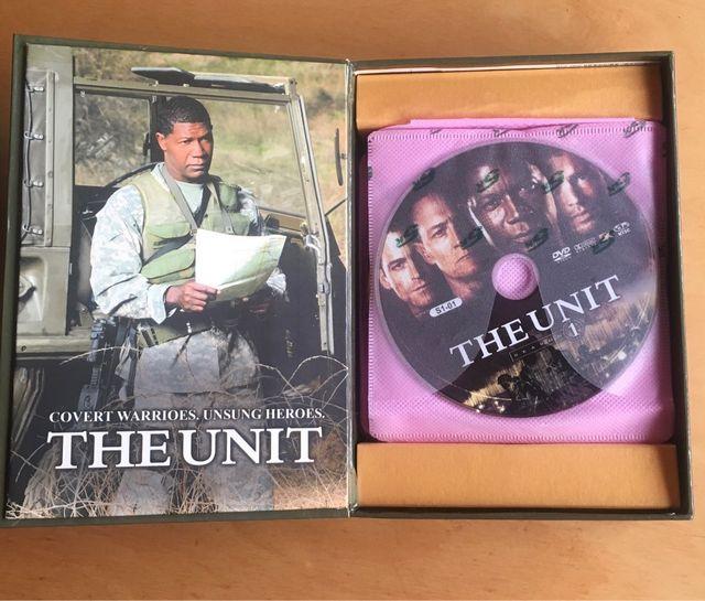 DVD set. 23 dvd. The Unit. Inglés