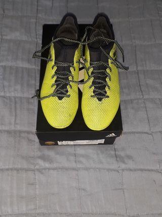 zapatillas fútbol ADIDAS X 17.3 AG J