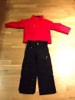 Anorak y pantalón Ski niño Wez'de