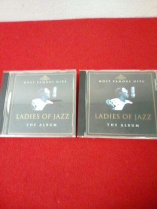 2 CD 'Ladies of Jazz'.36 temas