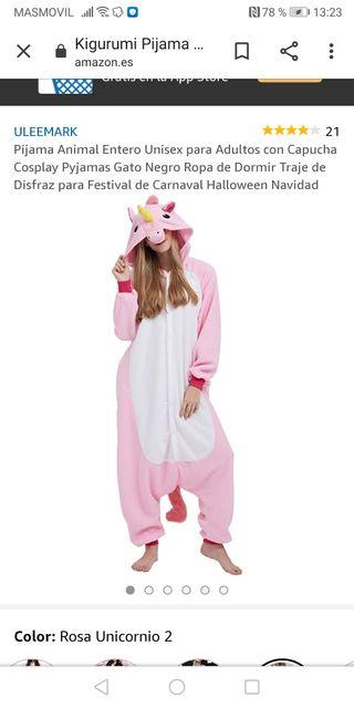 Pijama Carnaval Unicornio mujer