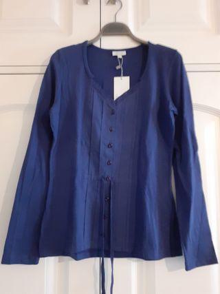 Camiseta azul noche Invierno Trucco