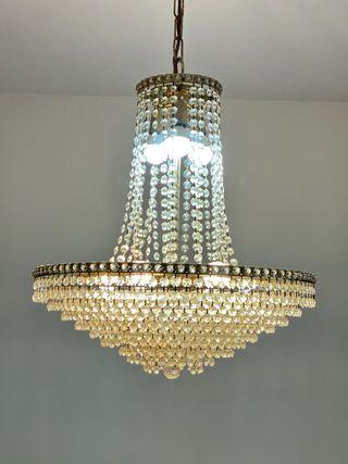Lámpara lagrimas cristal