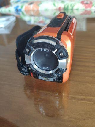 Videocámara acuática digital Full HD