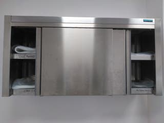 Armario inox pared