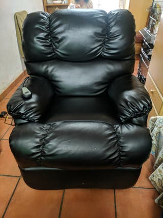 Sofa/Sillon relax electrico reclinable y elevable.