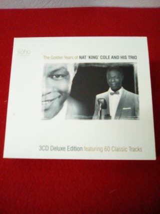 """'Nat """"King"""" Cole'.3CD.Deluxe edición"""