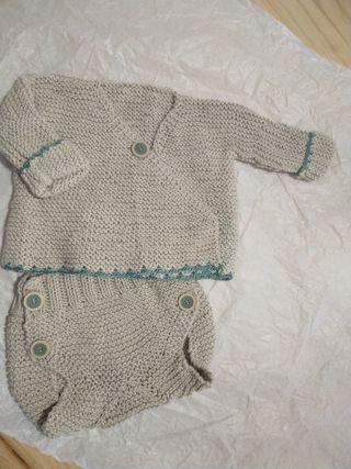 conjunto algodón bebé