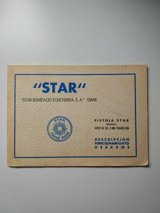 "Manual pistola ""star"""