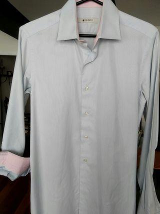 Camisa azul claro marca Olimpo talla 3