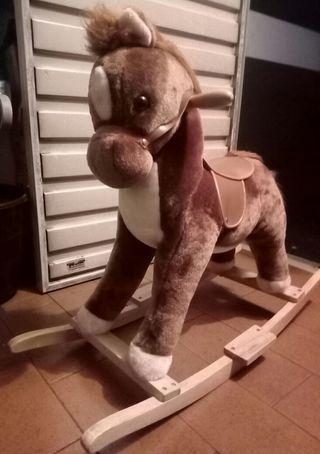 caballo balancin niño-a