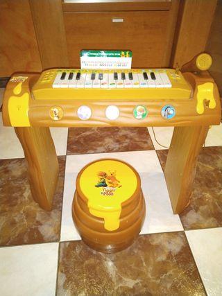 Piano electrónico Winnie the Pooh