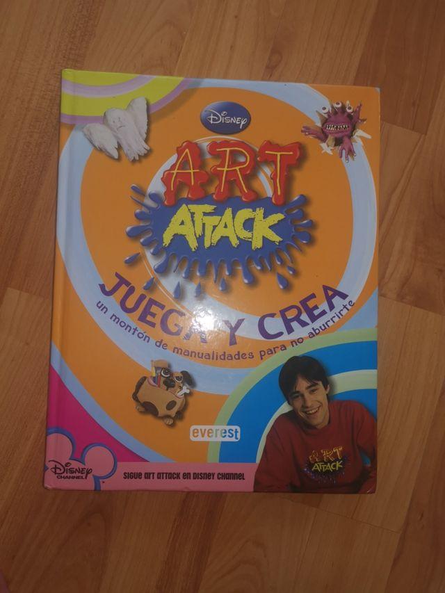 LIBRO art attack 255 hojas