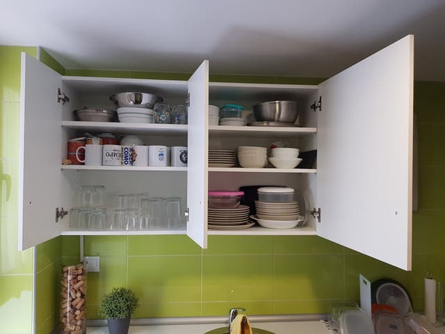2 muebles altos cocina (50€)