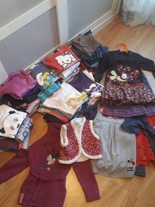 gran lote de ropa 4-5 años