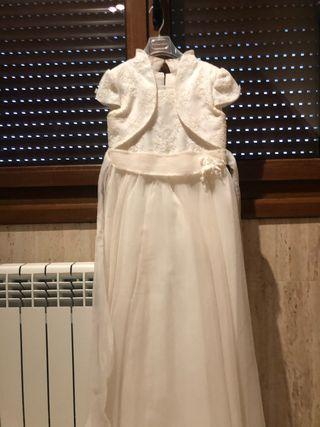 Vestido niña de comunión (el corte inglés)