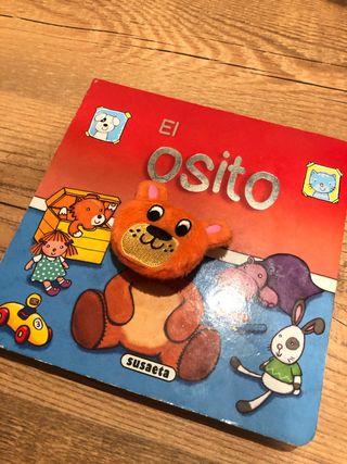 Libro infantil el osito