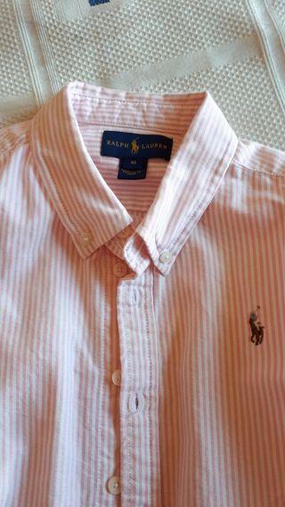 Camisa Ralph Lauren niña T10