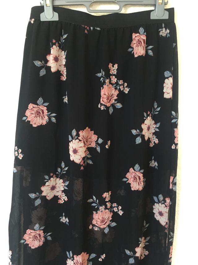 Falda larga H&M