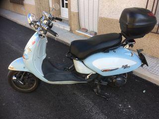 Aprilia Mojito Custom 125