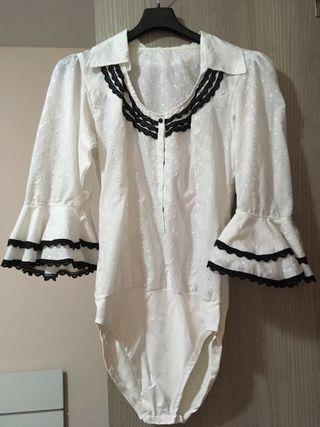 Camisa / body traje vestido sevillanas flamenco