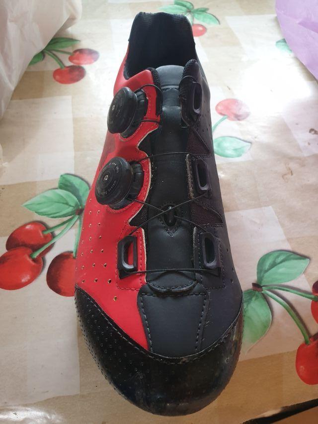 zapatillas luck phantom doble boa rojas